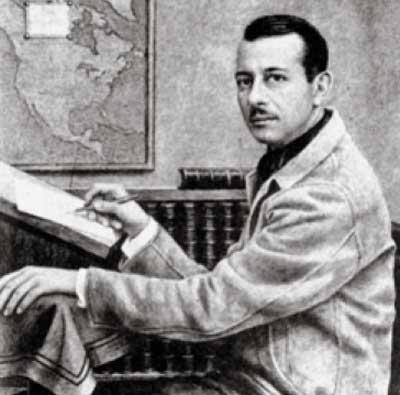 El autor de La invención de América.
