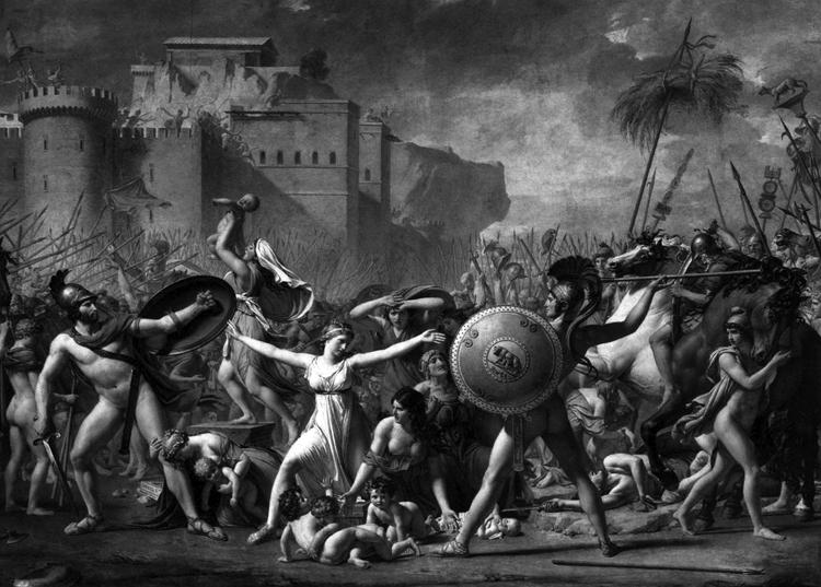 Imaginación historiogáfica: Jacques-Louis David