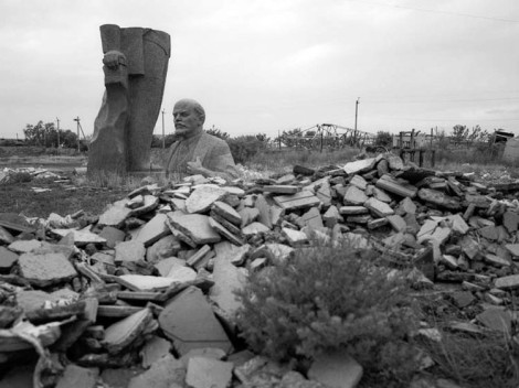 En Azerbaiyan. (Foto: James Pomerantz.)