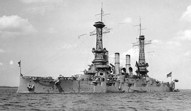 De la armada estadounidense, ca. 1918.