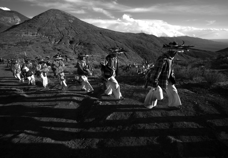 Contra la mina. (Foto; Heriberto Rodríguez.)