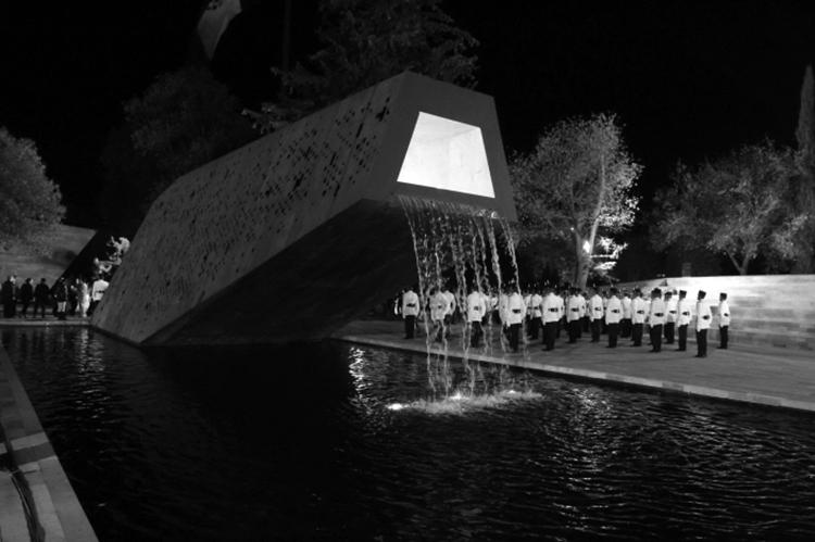 Honores a la milicia. (Foto: Notimex.)