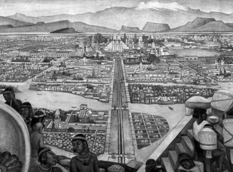 Mexico-Tlatelolco en la imaginación de Diego Rivera