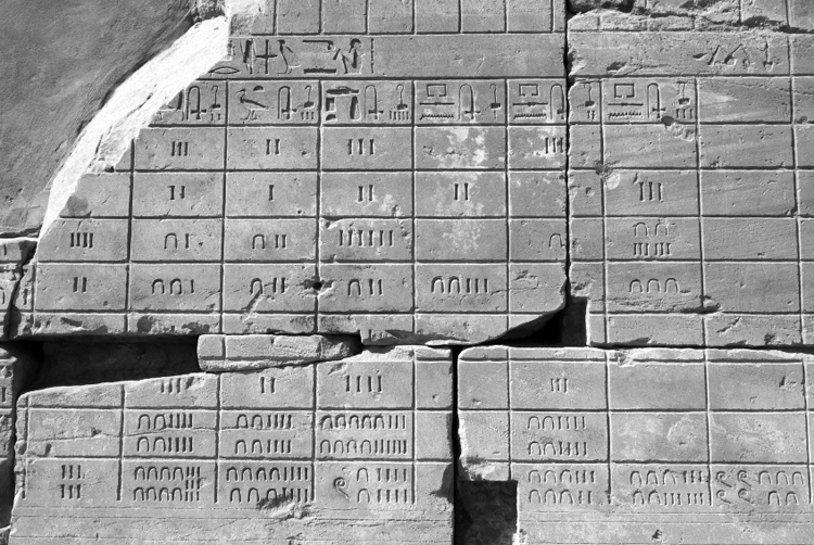 Organización del tiempo en el Egipto antiguo.