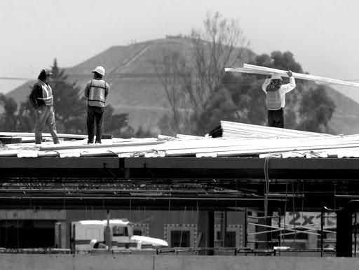 La construcción del Wal-Mart de Teotihuacan