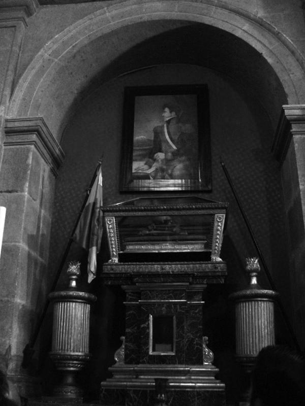 Capilla de San Felipe de Jesús en la catedral de México