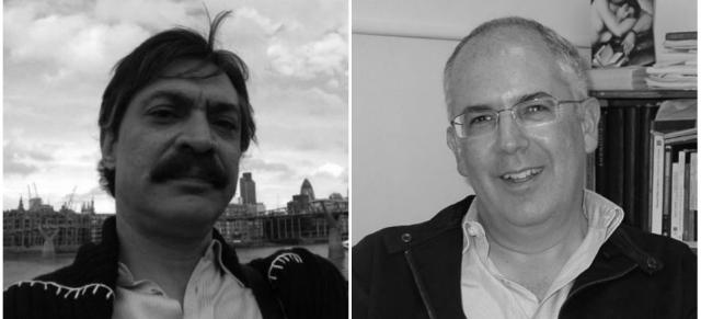 Marco Barrera y Antonio Saborit. (Collage tomado de Aristegui Noticias.)
