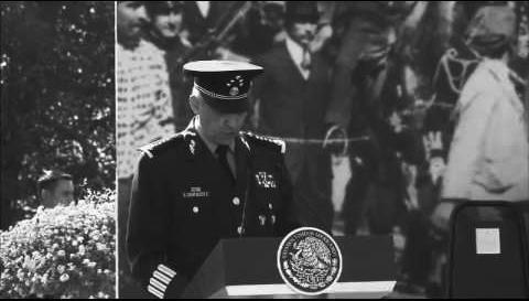 El general Salvador Cienfuegos Zepeda