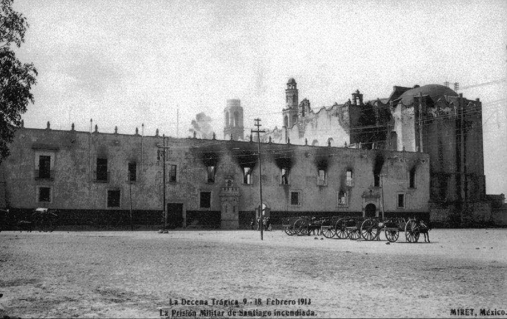 La cárcel de Santiago Tlatelolco en 1913