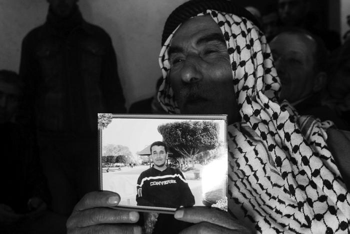 El padre de Arafat Jaradat.