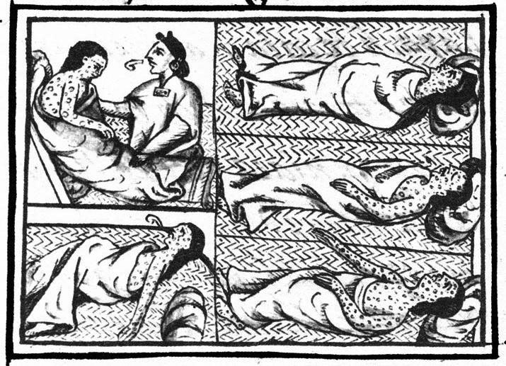 La viruela, según el códice florentino.