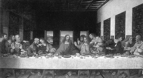 """La última cena."""