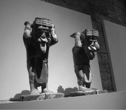Los dioses del Museo Nacional de Antropología