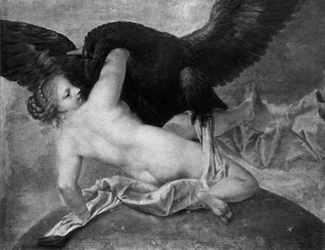 """Marco Liberi, """"Júpiter y Mnemosine""""."""