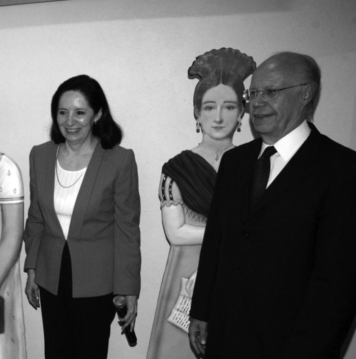 José Narro y Patricia Galeana, en la inauguración del Museo de la Mujer, en 2011.