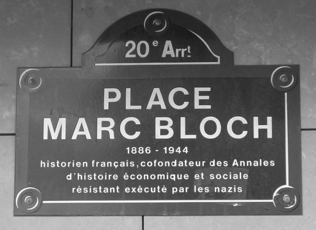 Una placa votiva en París