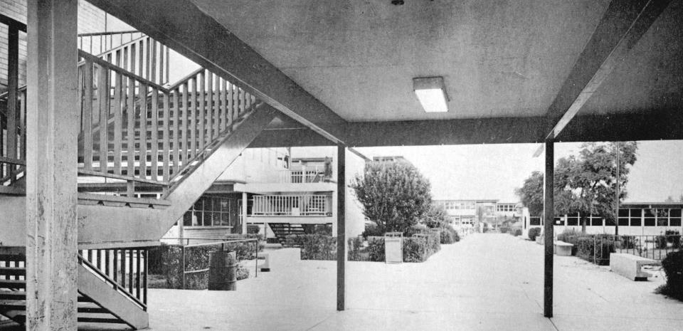El CCH Vallejo en los años setenta.