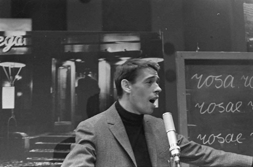 Jacques Brel en 1963.
