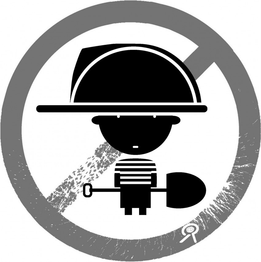 Logo contra la explotación infantil