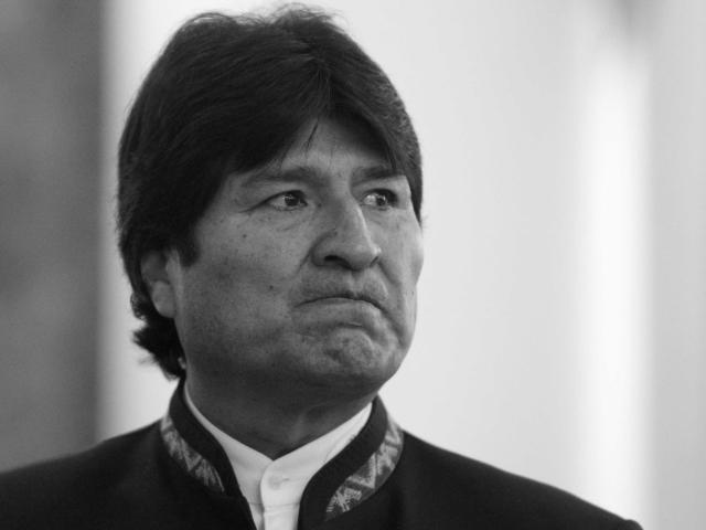 Evo Morales, agraviado.