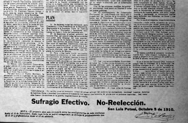 Plan de San Luis (fragmento)