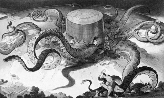 Standard Oil Octopus, Udo Keppler, 1904. Vigencia inaudita.