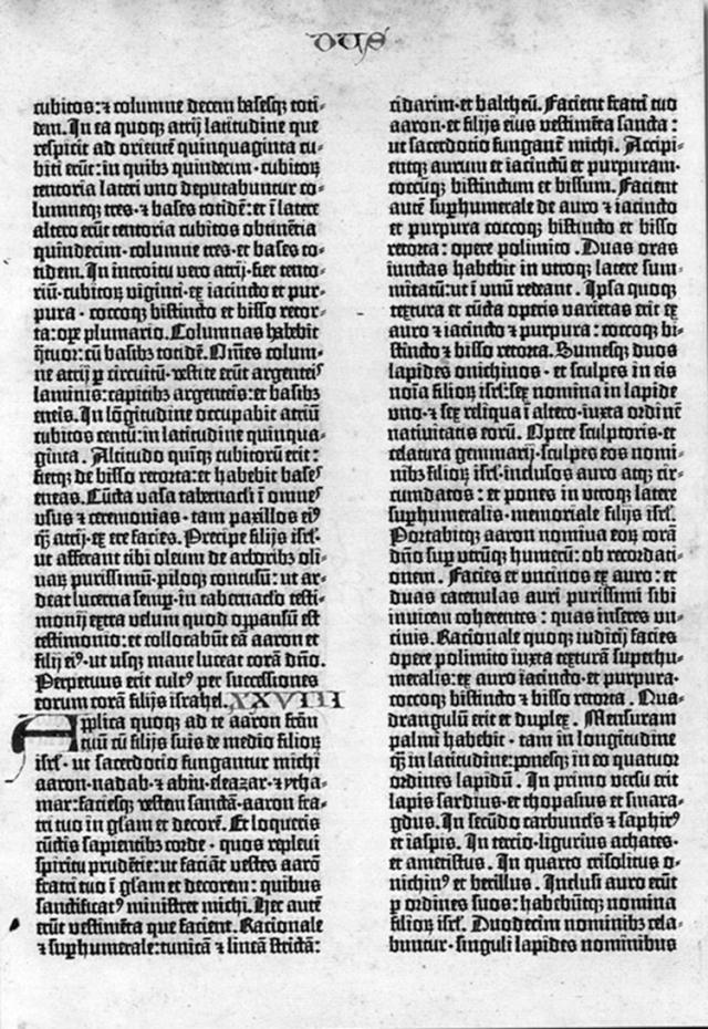 La de Gutenberg, de 1455
