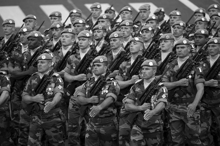 Fuerzas internacionales para estados fallidos