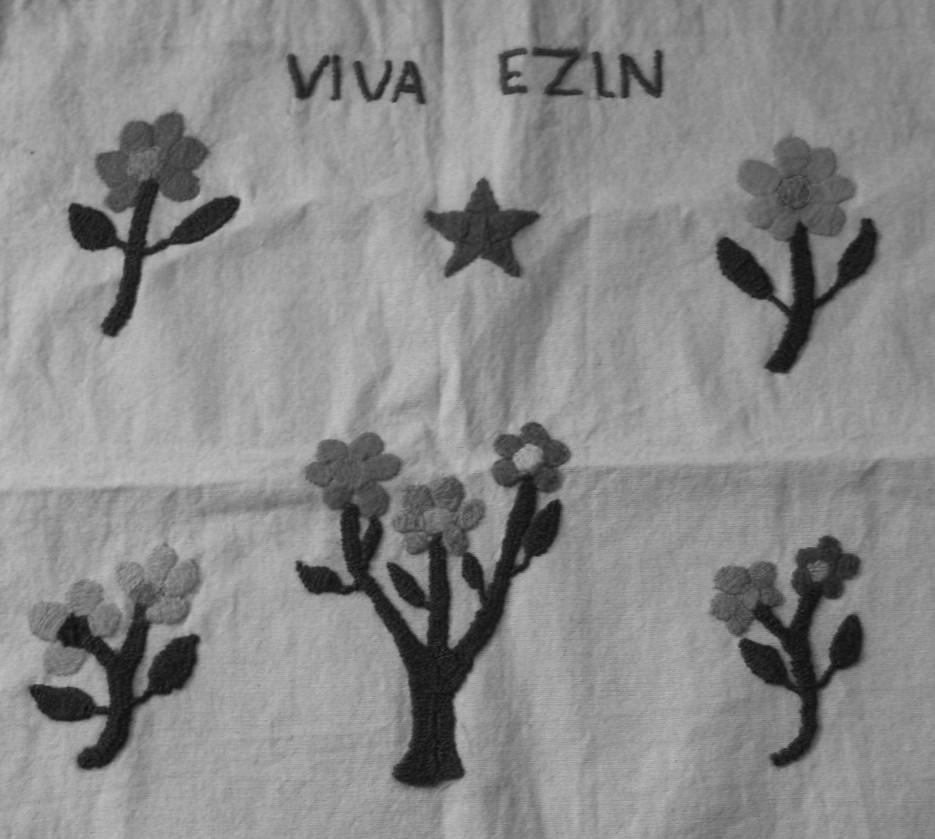 """EZLN. Treinta años de bordar ese """"lo que queremos ser y hacer""""."""