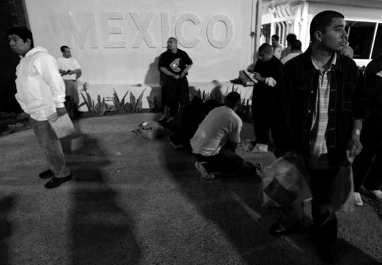En Tijuana. (Foto: AP.)