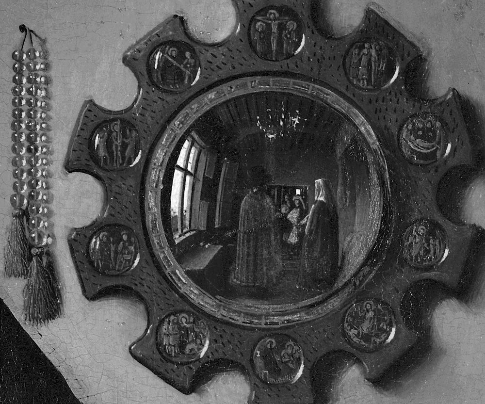 El retrato de Arnolfini. Detalle: observar a quien observa.