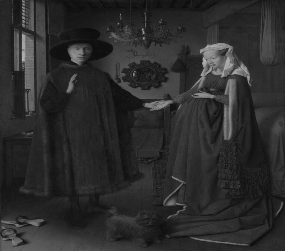 Juego de espejos: la observación de segundo orden (El retrato de Arnolfini, Jan van Eyck, 1434).