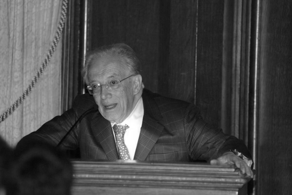 El profesor Katz (Foto: Katz Center for Mexican Studies)