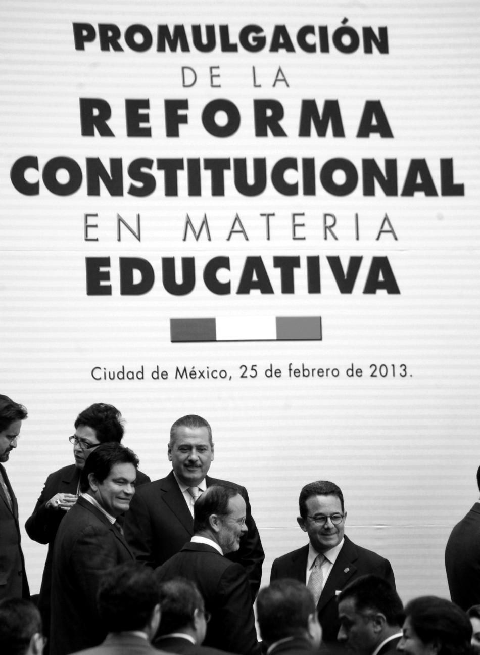 Reforma laboral disfrazada de educativa.