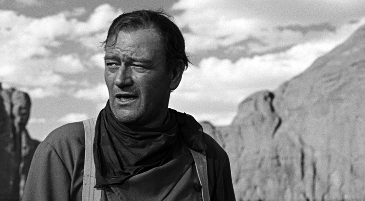 John Wayne in The Searchers (1956). Photo: Warner Bros.