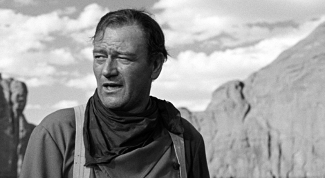 John Wayne in The Searchers (1956). Photo: Warner Bros.