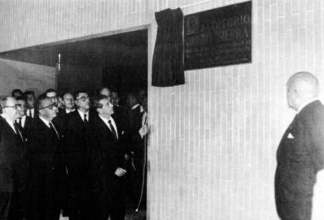 López Mateos frente al Che Guevara