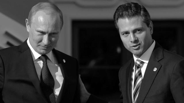 Presente y futuro de Rusia y México. (Foto: AFP.)