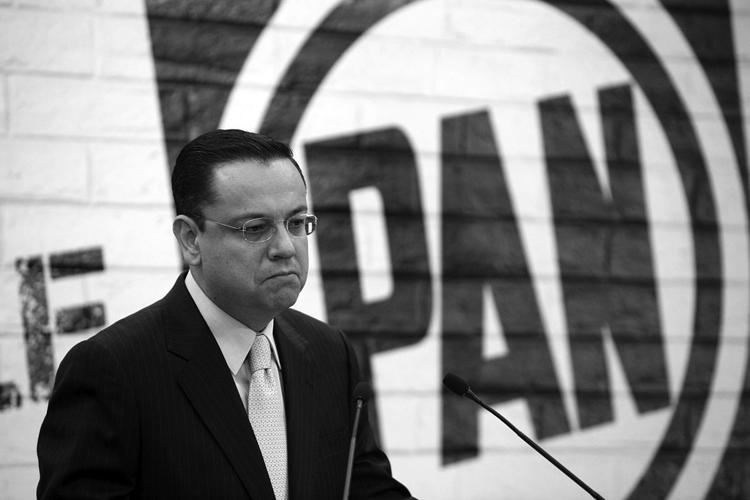 El ex presidente del PAN. (Foto: Germán Canseco.)
