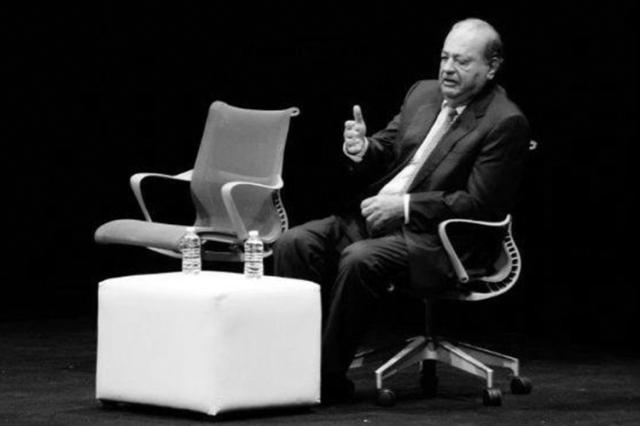 Carlos Slim en México, siglo XXI de 2013.