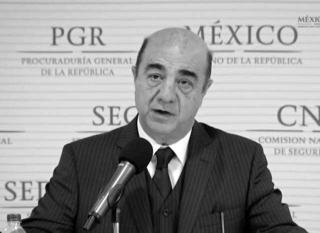El procurador general de la república, 7 de noviembre de 2014. (Foto: Presidencia de la República.)
