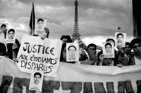Manifestación en la capital francesa. (Foto: Reuters.)