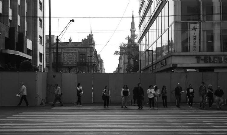 Madero antes de la marcha. (Foto tomada de www.arteycultura.com.mx)