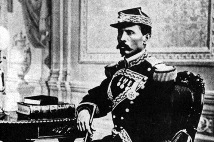 El joven Porfirio Díaz.