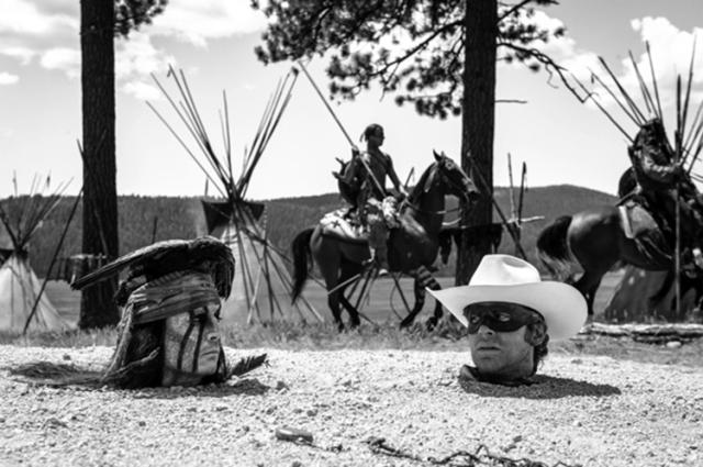 Fotograma de The Lone Ranger, de Gore Verbinski (2013).