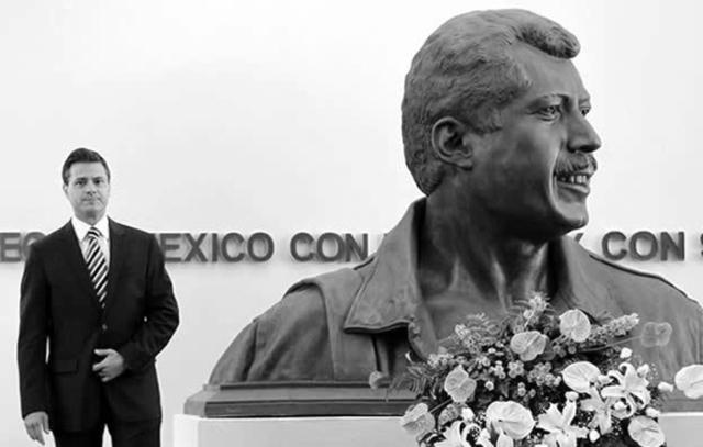 """Dos """"reformadores"""". (Foto: Notimex.)"""