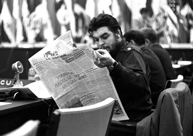 La mirada atenta y crítica de Ernesto Che Guavara sobre la América Latina.