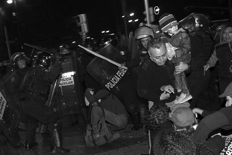 Represión policiaca en 2014