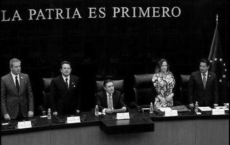 La interparlamentaria. (Foto: Luis Humberto González.)
