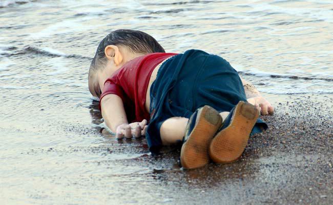3. Niño sirio ahogado